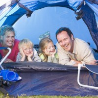 Many Kinds Of Camping - Family Camping In A Tent