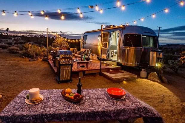 camper trailer rentals in California