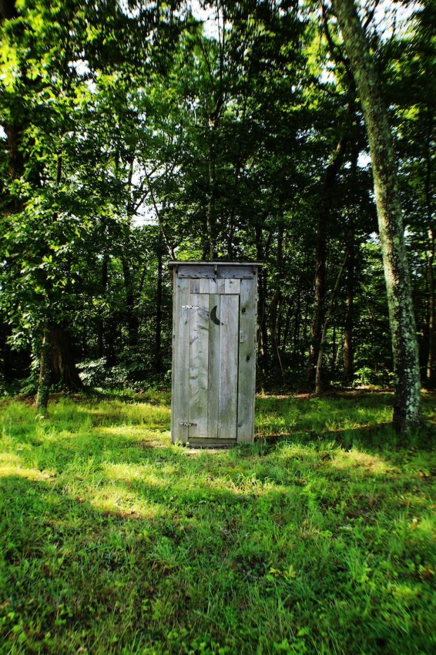 DIY Camping Toilet - Outhouse