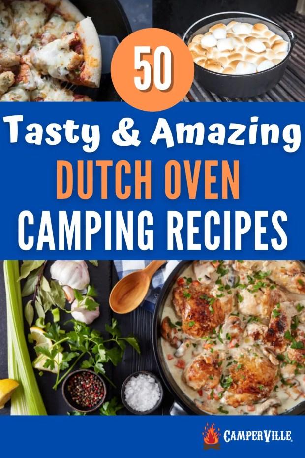 50 Dutch Oven Pot Camping Recipes