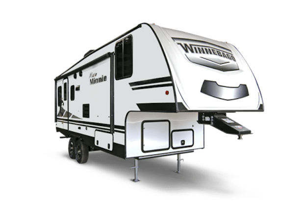 small 5th wheel trailers - winnebago micro mini