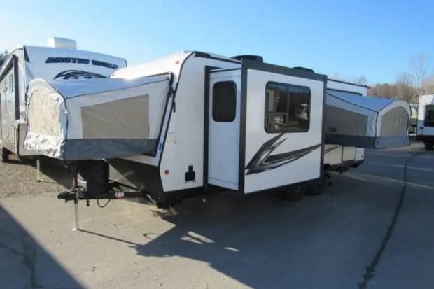Hybrid Camper - Keystone Bullet Crossfire 2190ex Exterior