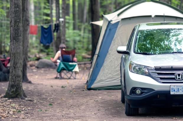 how to plan a camping trip in a tent site