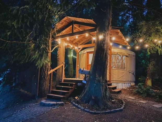 Yurt Camping In California
