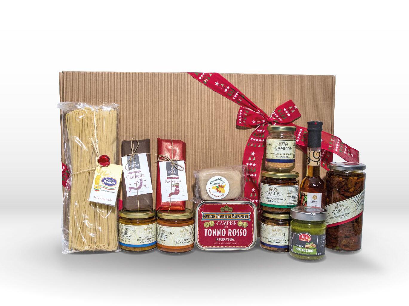 ceste natalizie e regali aziendali 2018 prodotti tipici