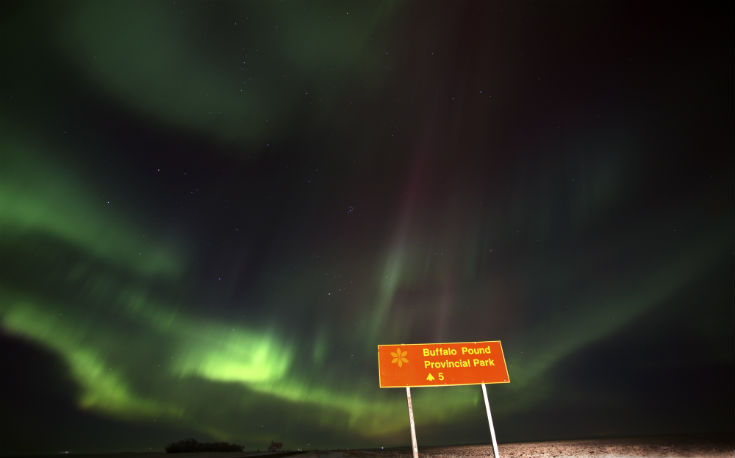 Northern Lights Eastern Canada