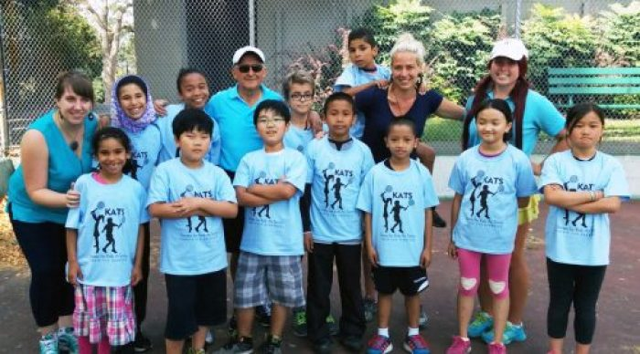 Society For Kids at Tennis