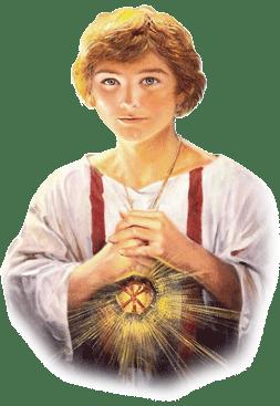 Resultado de imagem para imagem do Mártir da Eucaristia- São Tarcísio