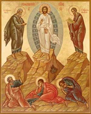 Resultado de imagem para imagem da transfiguração - canção nova