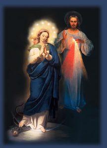 Nossa Senhora é a Mãe da Misericórdia, Jesus Cristo Nosso Senhor.