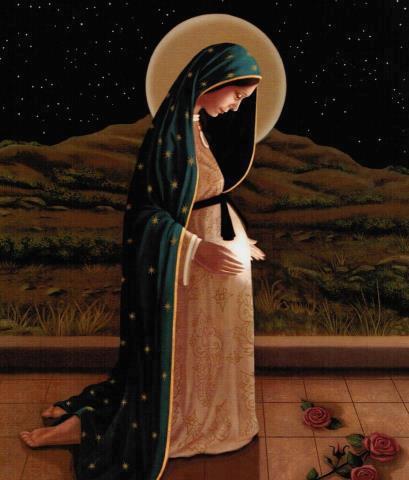 Resultado de imagem para Nossa Senhora do advento