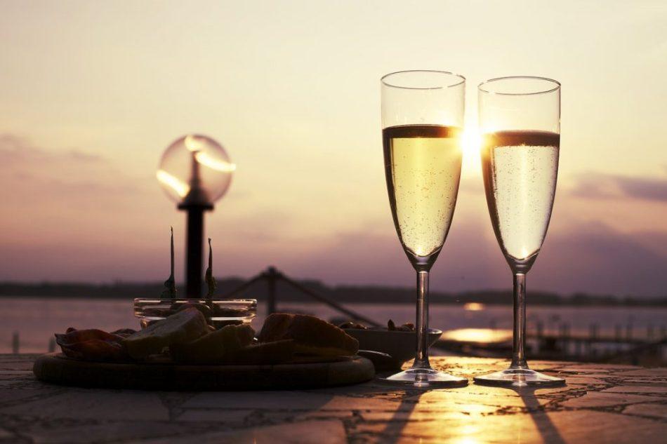 vino Franciacorta al lago d'Iseo