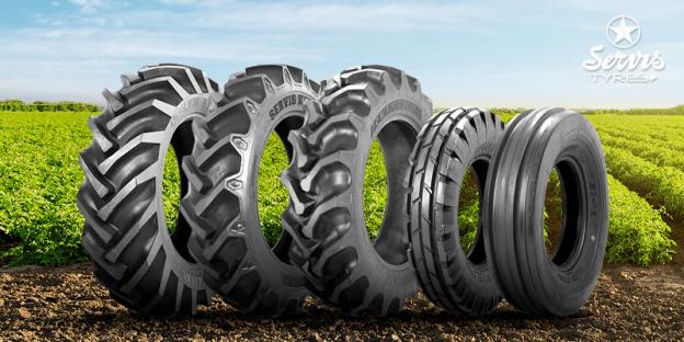 Pneus Agrícolas: a solução para a sua produção