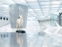 Mercedes-Benz Museum in Stuttgart, Germany using the Blue Ring 45mm