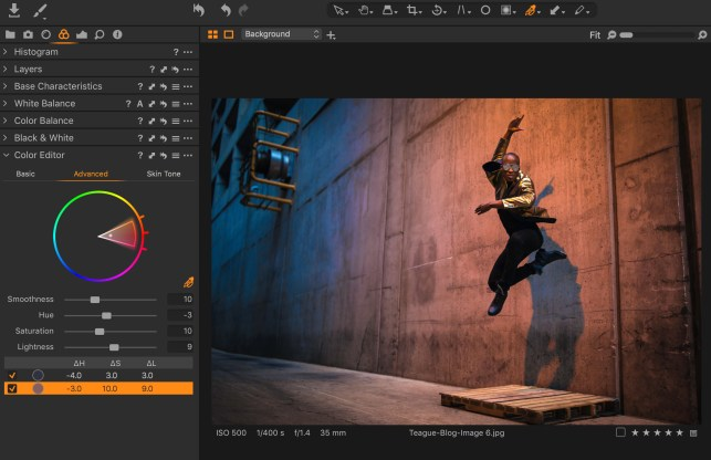 Switching to capture one