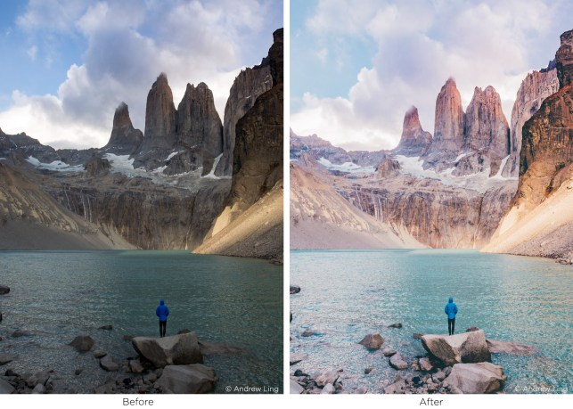 patagonia landscape by andrew ling