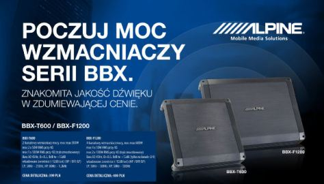 Alpine BBX T600-F1200