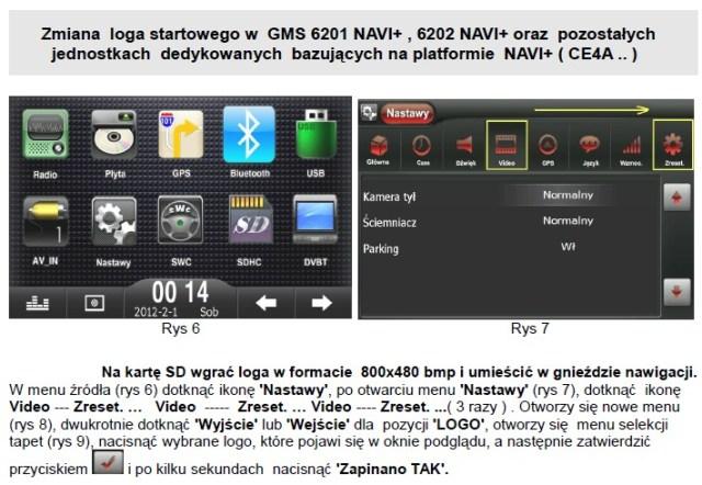 zmiana loga startowego  w GMS 7206, 7243..