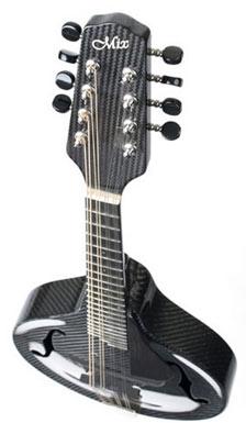 NewMAD carbon fiber mandolin