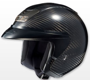 HJC AC-3 carbon fiber open face/cruiser motorcycle helmet