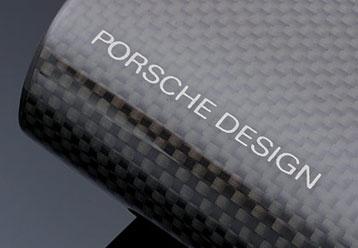Porsche Designs carbon fiber wood travel humidor