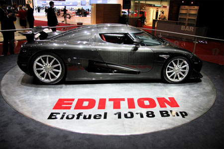 Carbon fiber Koenigsegg CCXR