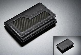 Nissan GT-R collection carbon fiber business card case