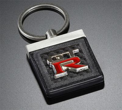 Nissan GT-R collection carbon fiber key chain