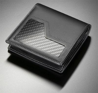 Nissan GT-R collection carbon fiber wallet