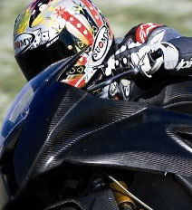 BMW S 1000 RR carbon fiber closeup