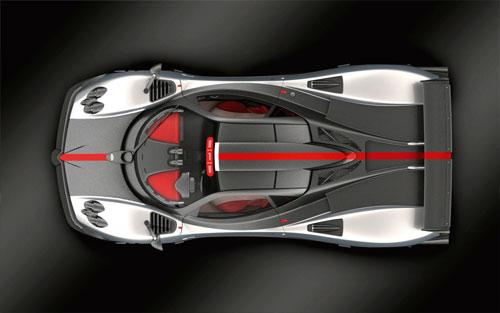 Carbon Titanium Will Be Seen First In The Pagani Zonda Cinque