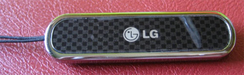 Carbon fiber LG Secret keychain