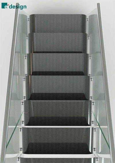 Carbon fiber staircase