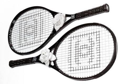 Chanel carbon fiber tennis racket
