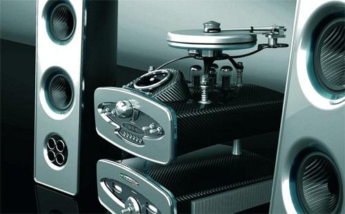 Pagani sound system