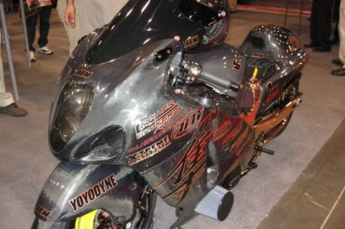 Carbon fiber Hayabusa