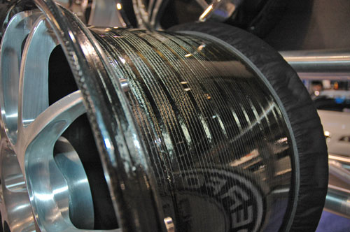 HRE carbon fiber wheel from SEMA