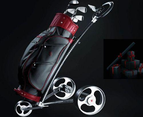 Mantis carbon fiber golf caddy