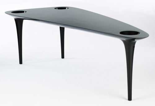 Marc Newton black hole carbon fiber table