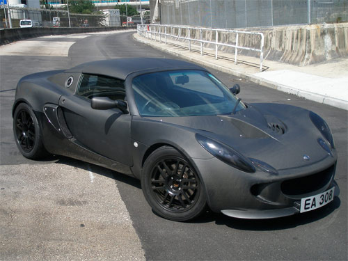 Jimmy Wong's All Raw Carbon Fiber Lotus Elise