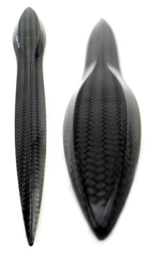 Purisme carbon fiber letter opener