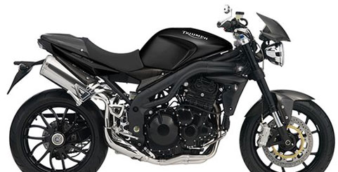 Triumph Triple Speed Carbon motorcycle