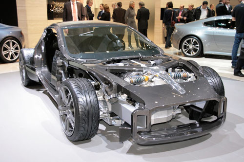 Aston Martin One-77 Supercar: Carbon Fiber In The Raw