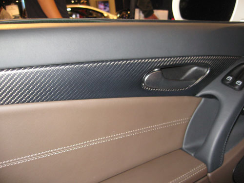 SL65 AMG carbon fiber door