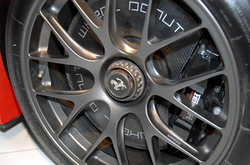 Ferrari 599XX carbon fiber rotor