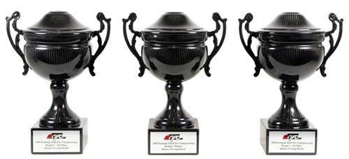 Carbon fiber trophy from Formula D