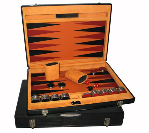 Schedoni carbon fiber backgammon case