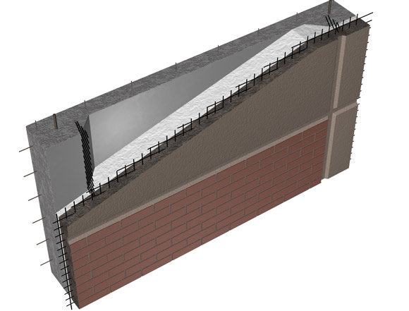 Non-corrosive carbon fiber grid reinforcement