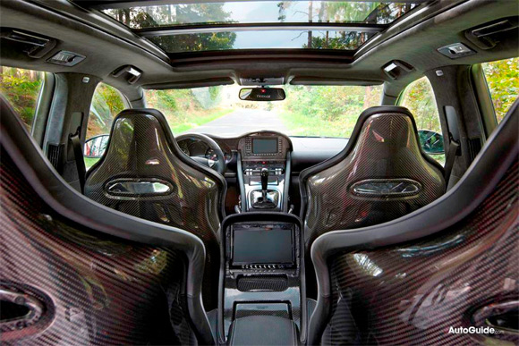 Mansory Chopster Porsche Cayenne Turbo S interior
