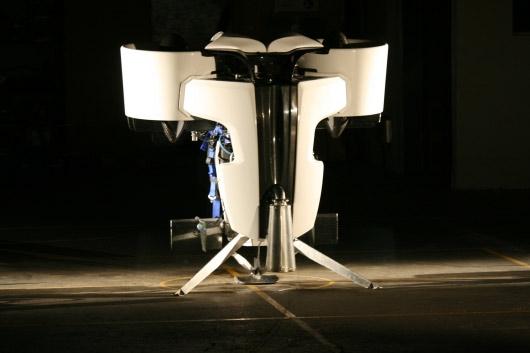 Martin Aircraft carbon fiber jetpack